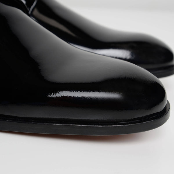 Black Bow Derby Shoes