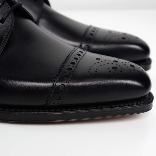 Black Derwent Derby Brogues