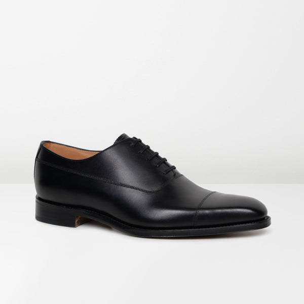 Black Laxford Oxford Shoes