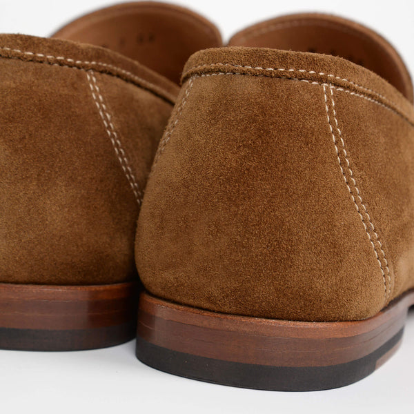 Brown/Neutral Suede Nicholson Moccasins
