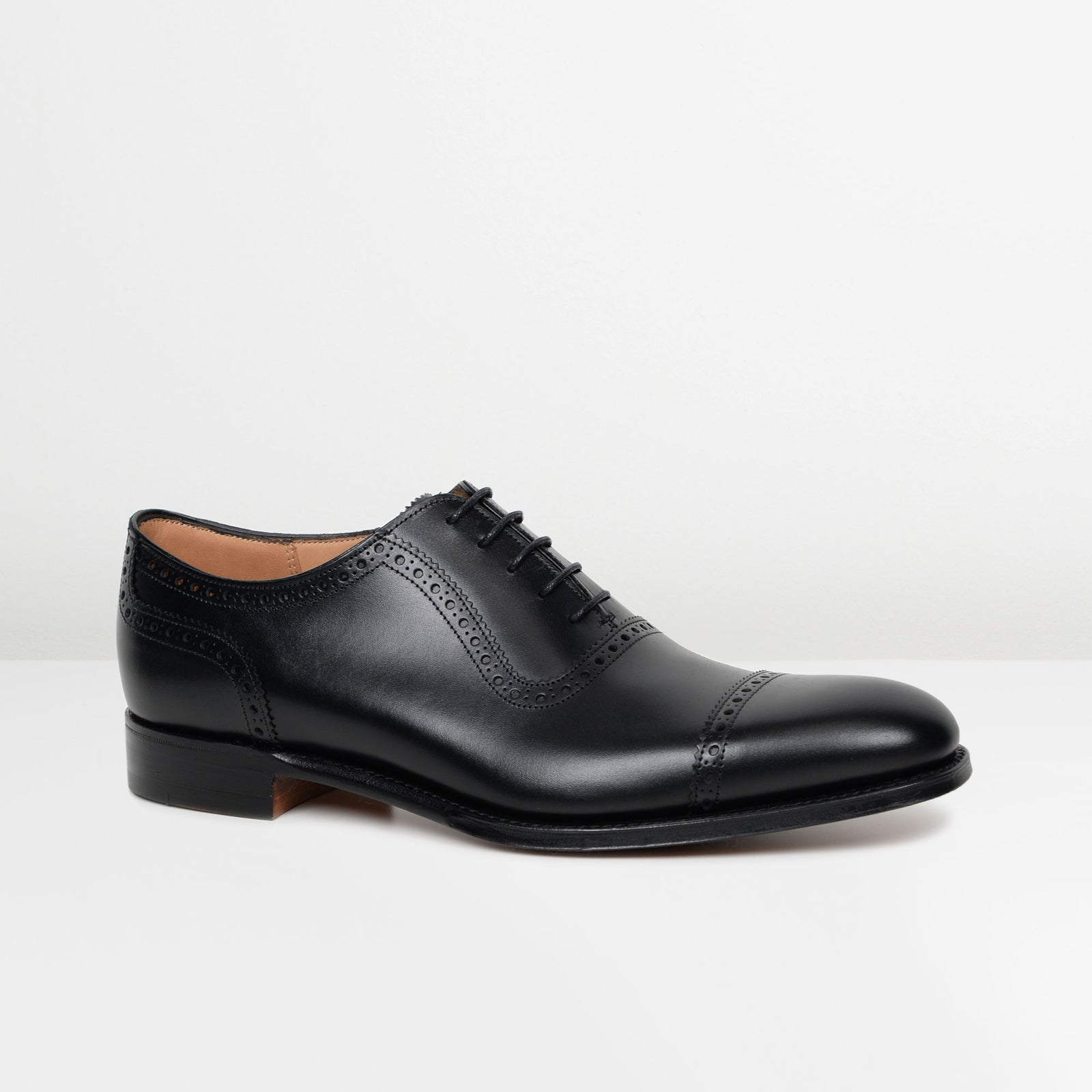Black Fenchurch Oxford Shoes