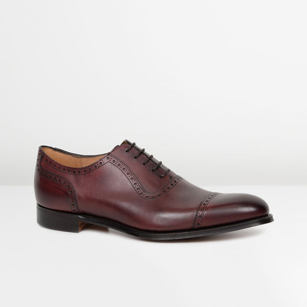 Burgundy Fenchurch Oxford Shoes