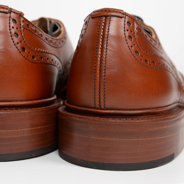 Marron Antique Bourton Derby Brogues