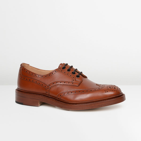 Marron Antique Bourton 5633 Derby Brogues