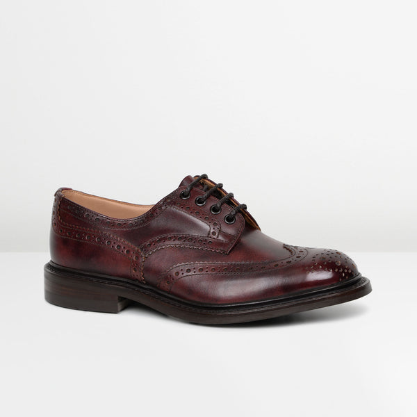 Burgundy Bourton 5633/77 Dainite Derby Shoes