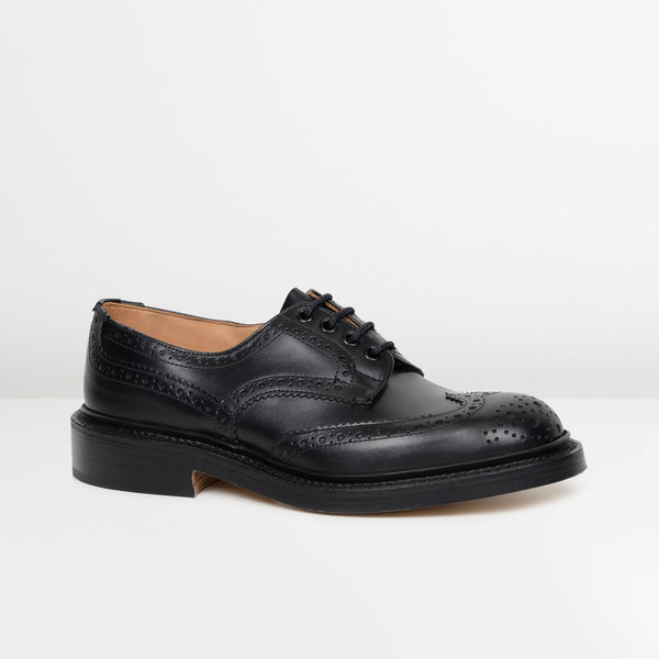Black Bourton 5633/67 Derby Brogues