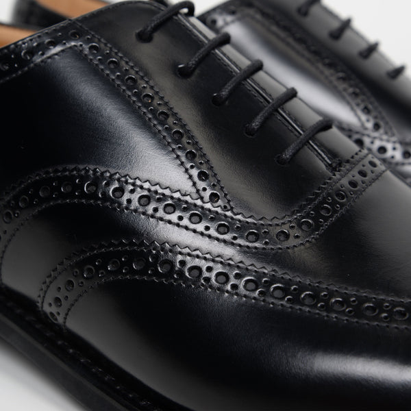 Black 302B Oxford Brogues