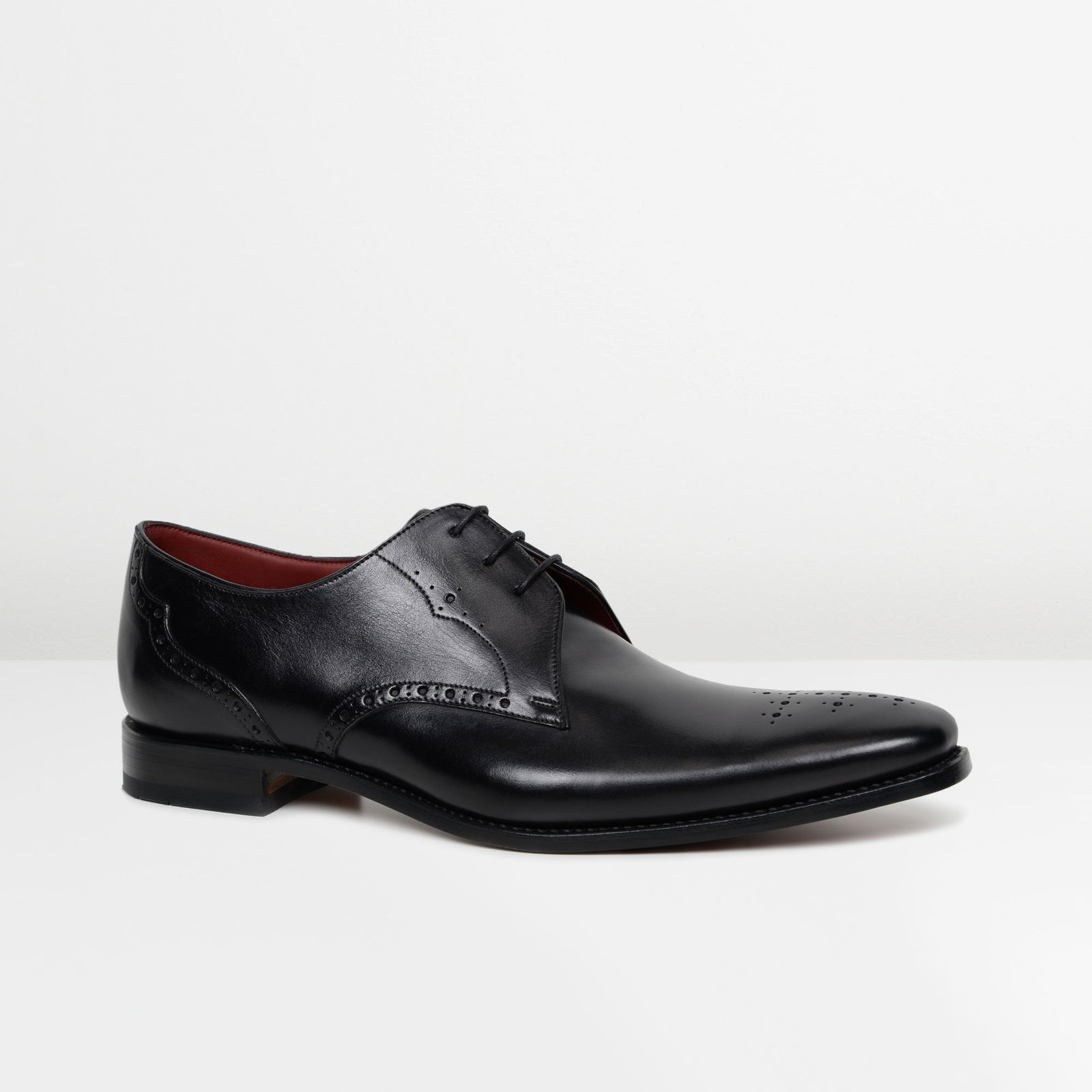 Black Hannibal Derby Shoes