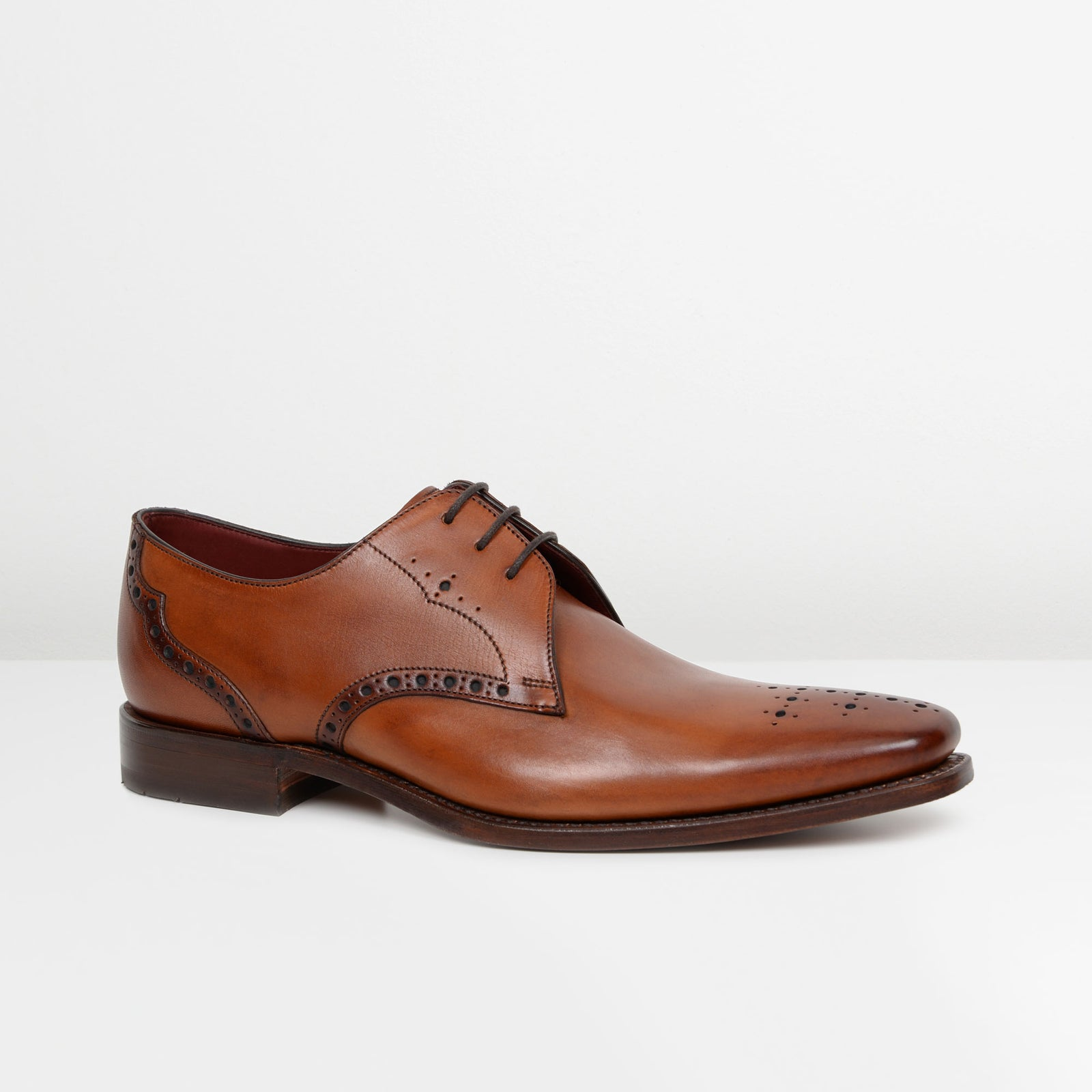 Tan Hannibal Derby Shoes