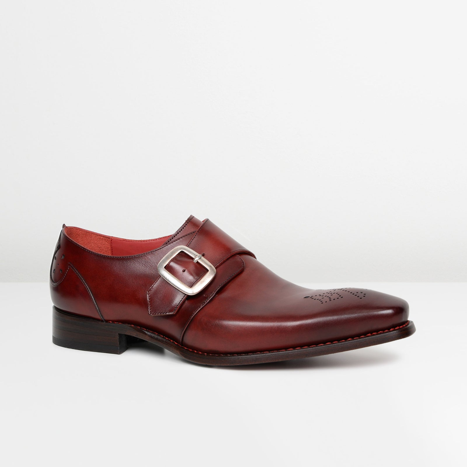 Grugna Shadow Hunger 'Headstone' Monk Strap Shoes