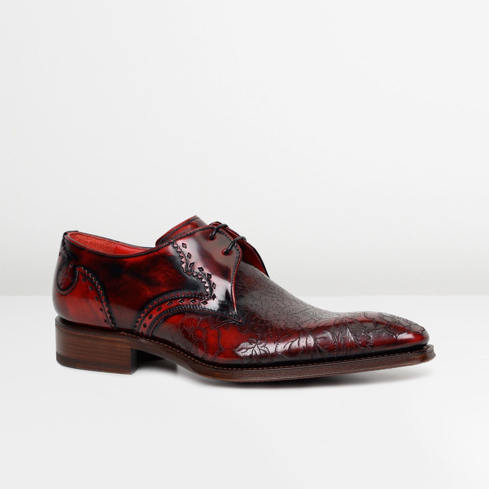 Shade Fume Marl Moon 'Poison' Gibson Shoes