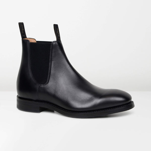 Black Chatsworth Chelsea Boots