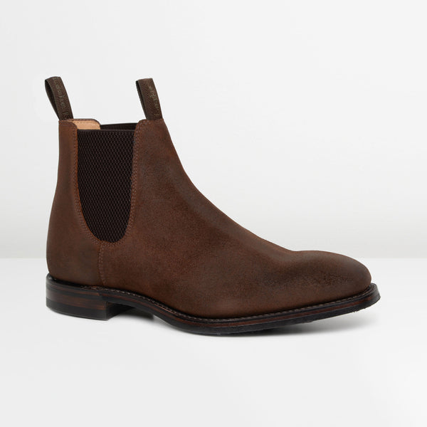 Rust Brown Chatsworth Chelsea Boots