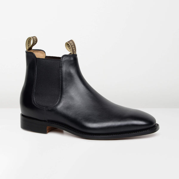 Black Mansfield Chelsea Boots