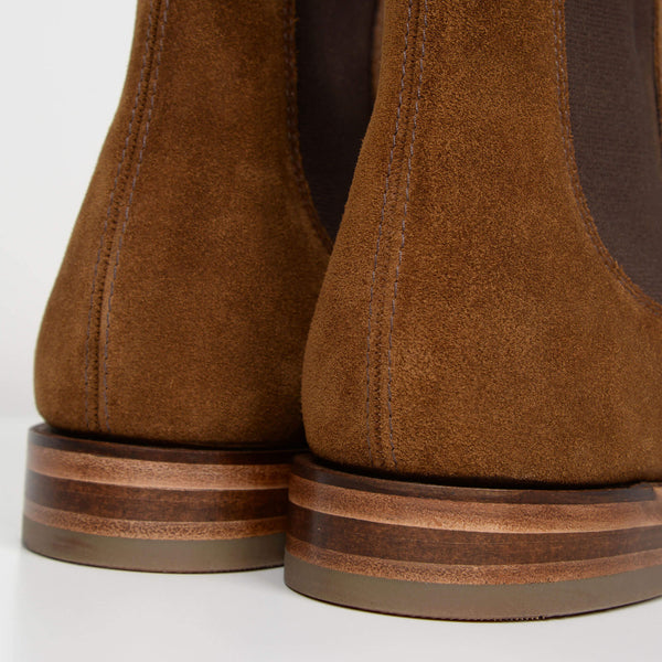 Tan Suede Apsley Chelsea Boots