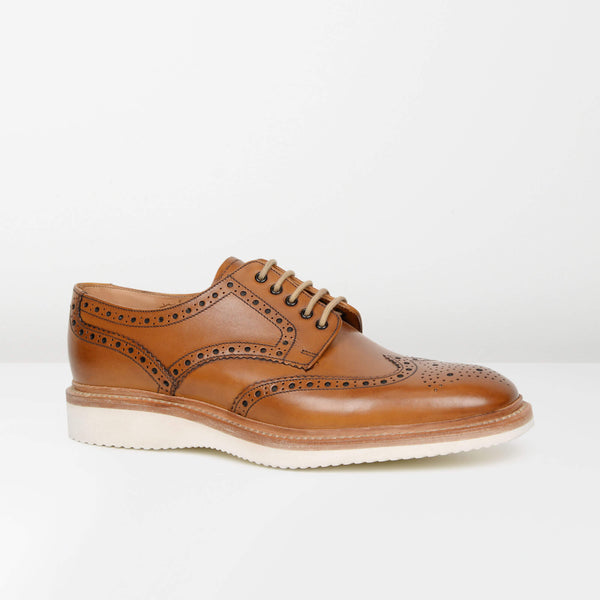 Tan Cobra Derby Brogues