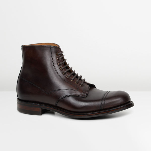 Chicago Tan Jarrow R Derby Boots