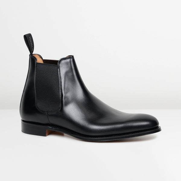 Black Threadneedle Chelsea Boots