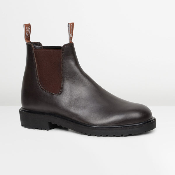 Brown Stockyard Chelsea Boots