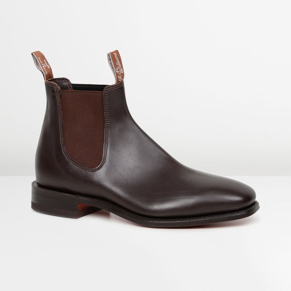 Chestnut Classic Craftsman Chelsea Boots