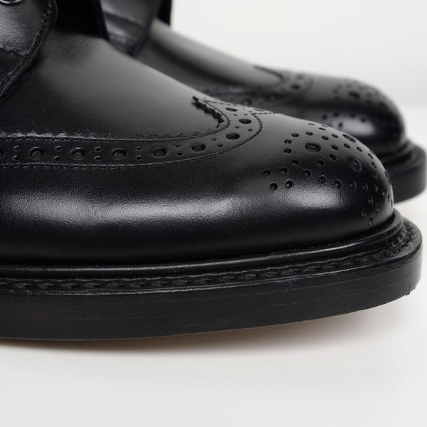 Black Stow 5634 Derby Brogue Boots