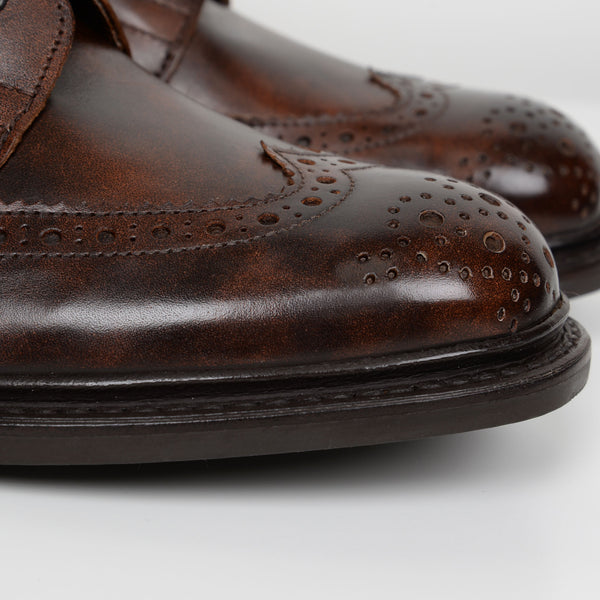 Stow Dark Brown 5634/69 Dainite Derby Brogue Boots