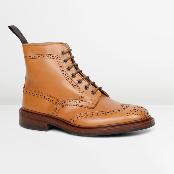 Acorn Antique Stow 5634/24 Dainite Derby Brogue Boots