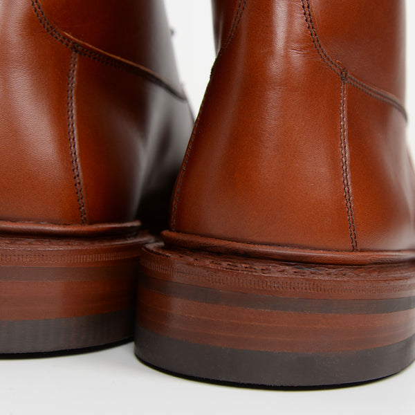 Marron Antique Burford 5635/5 Dainite Derby Boots