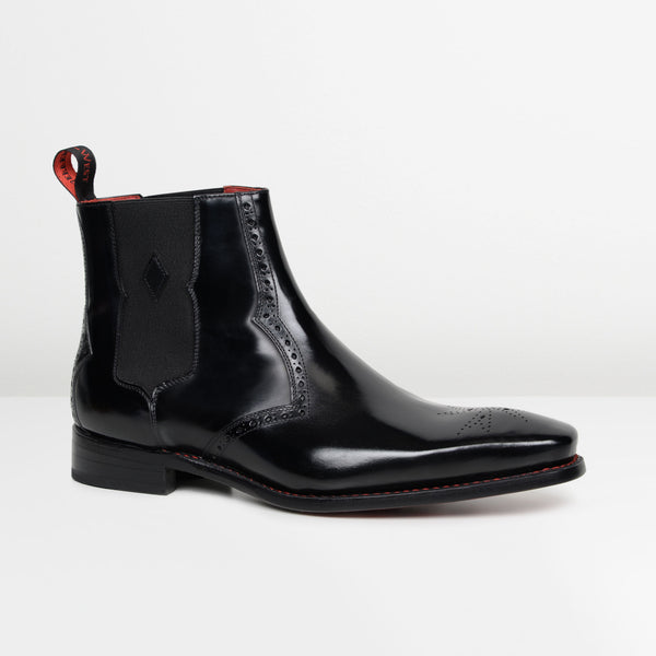 Black Hunger 'Bowie' Chelsea Boots
