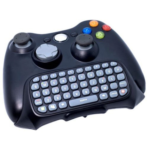 Wireless Keyboard Keypad for XBOX 360 XBOX360 Controller Messenger Chatpad