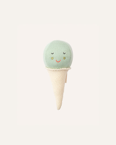 MINT ICE CREAM BABY RATTLE - BØRN BABY