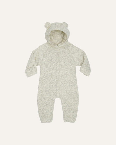 NEWBORN COVERALL WITH HOOD DEUX - BØRN BABY