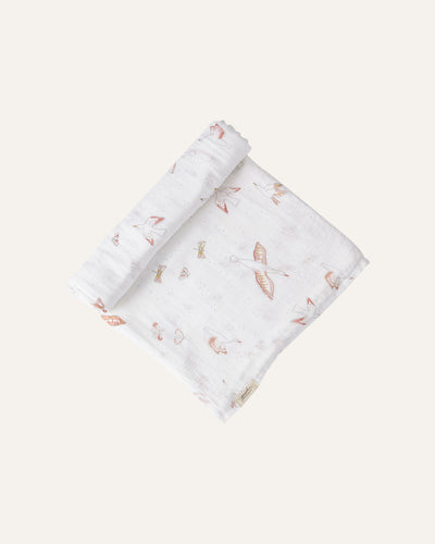 BIRDS OF A FEATHER SWADDLE - BØRN BABY