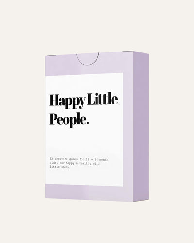 HAPPY LITTLE PEOPLE CARD DECK: THE SECOND YEAR - BØRN BABY