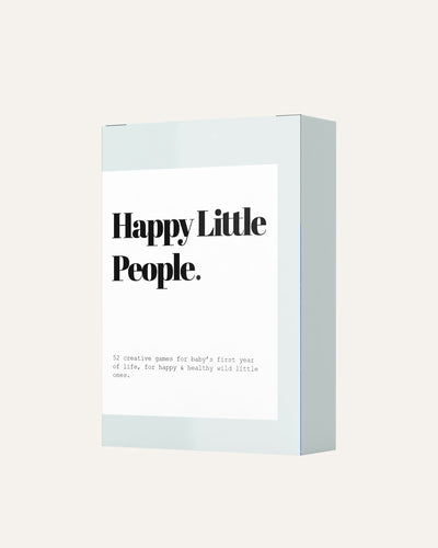 HAPPY LITTLE PEOPLE CARD DECK: THE FIRST YEAR - BØRN BABY