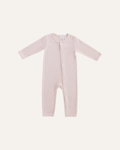 RIBBED COTTON COVERALL