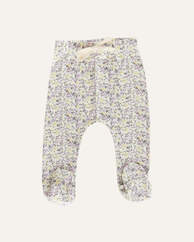 COTTON FOOTED PANT