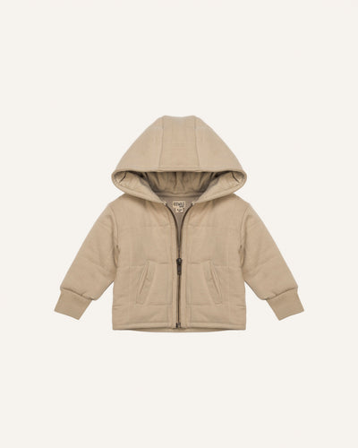 ORGANIC QUILTED JACKET