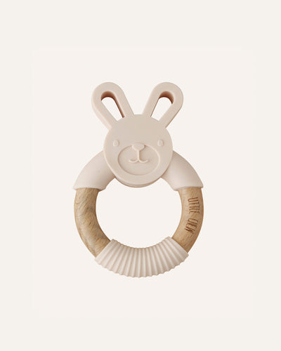BUNNY TOY + TEETHER - BØRN BABY