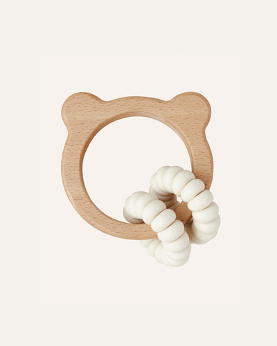 BEAR TOY + TEETHER - BØRN BABY