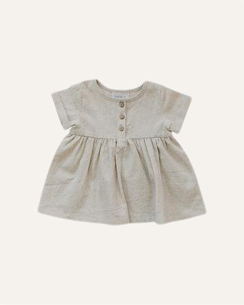 SHORT SLEEVE DRESS - BØRN BABY
