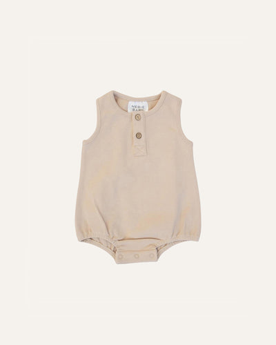 BUTTON BUBBLE ROMPER - BØRN BABY