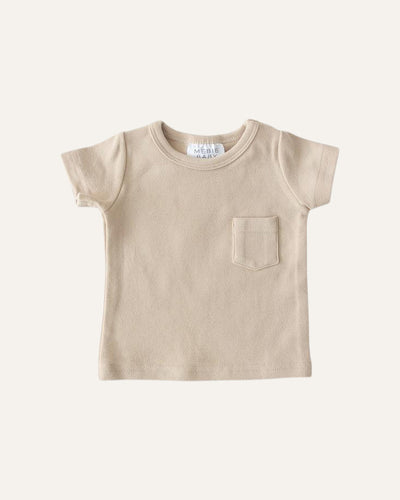 COTTON POCKET TEE - BØRN BABY