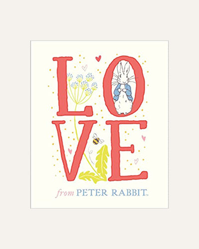 LOVE FROM PETER RABBIT - BØRN BABY