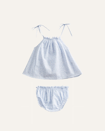 GATHERED CAMI + BLOOMERS SET - BØRN BABY
