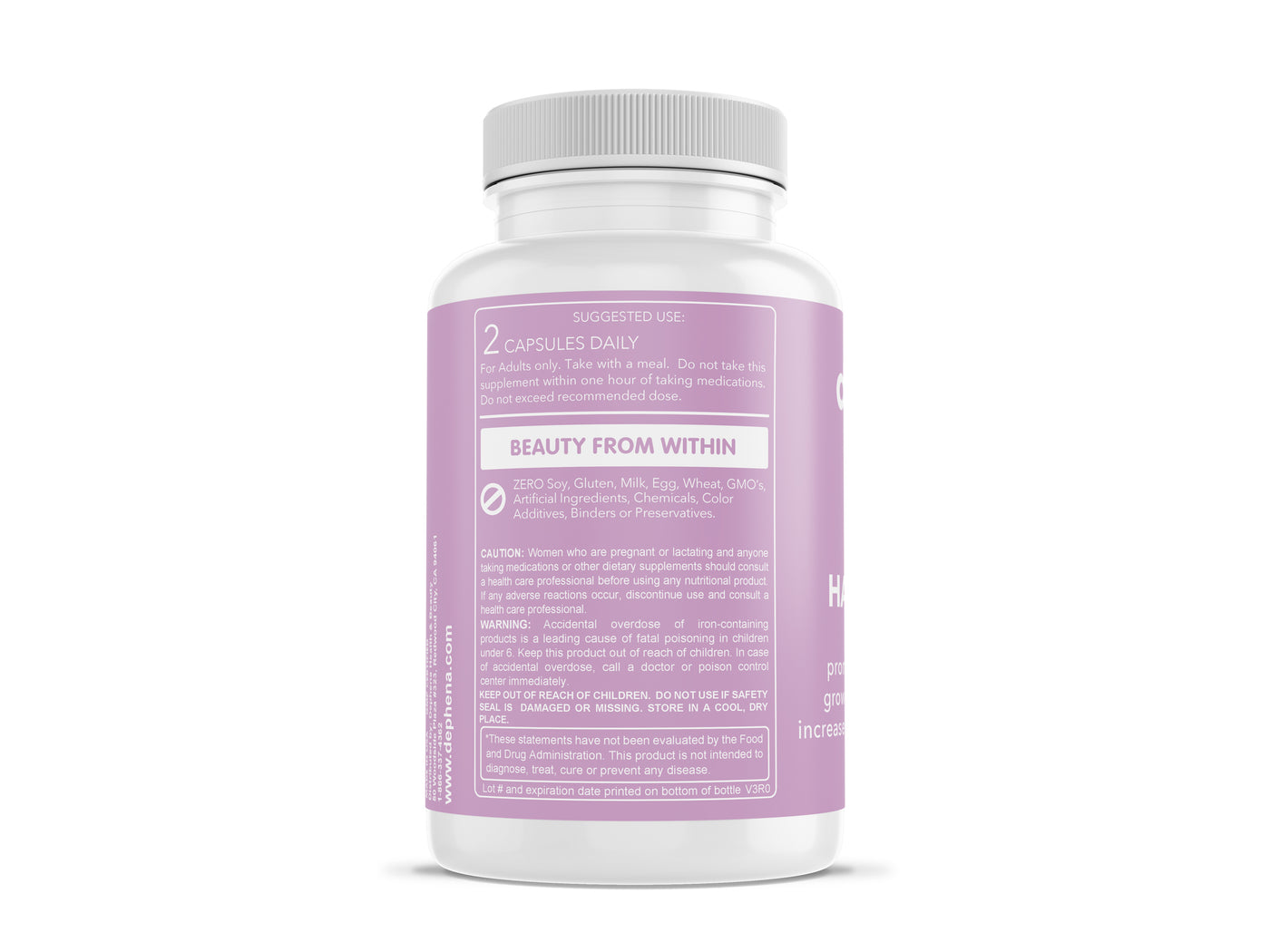 Hair Growth Vitamins >> Dephena Hair Growth Vitamins