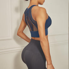 Load image into Gallery viewer, Sports Bra -Cut Out Back Design