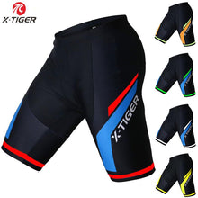 Load image into Gallery viewer, Men-or-Women-Padded-Cycling-Shorts