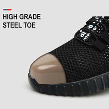 Load image into Gallery viewer, Military Grade Steel Toe Air Mesh Breathable Safety Shoes.
