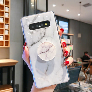 Marble Case with FREE popsocket